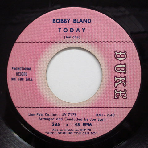 BOBBY BLAND - These Hands(Small But Mighty) (Promo)