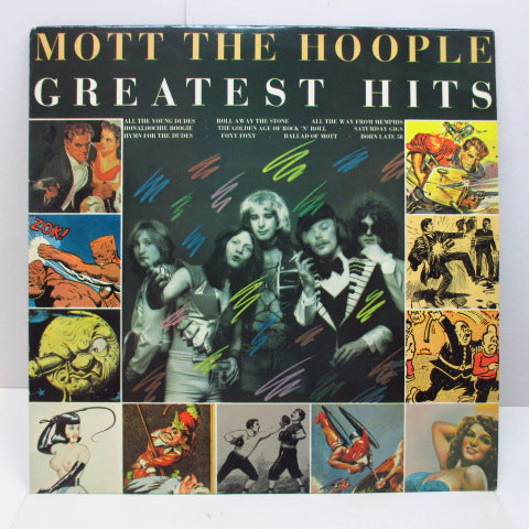 MOTT THE HOOPLE - Greatest Hits (UK Orig.+Insert)