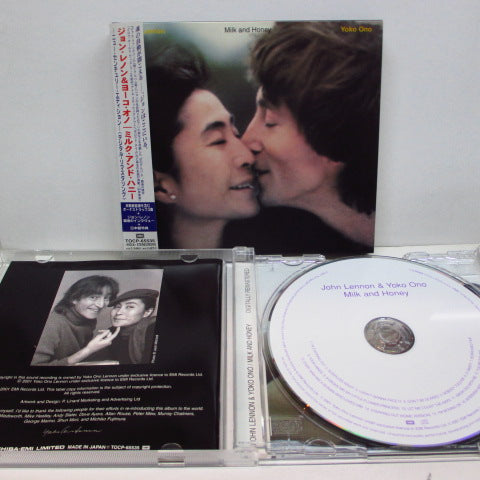 JOHN LENNON / YOKO ONO - Milk And Honey (Japan Ltd.Re CD/TOCP-65535)