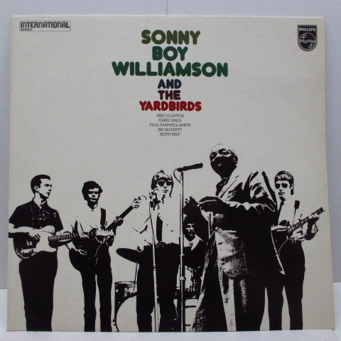 YARDBIRDS (Sonny Boy Williamson & THE) - Sonny Boy Williamson & The Yardbirds (UK '71 Re Mono LP/Stickered CS)