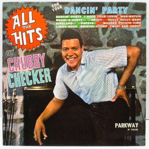CHUBBY CHECKER - All The Hits (For Your Dancin' Party) (US Orig.Mono LP)