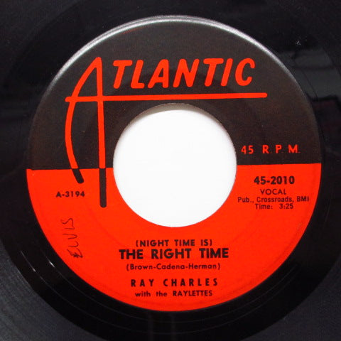 RAY CHARLES - (Night Time Is) The Right Time (US Orig)