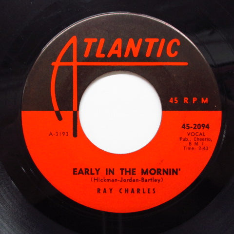 RAY CHARLES - Early In The Mornin' (US Orig)