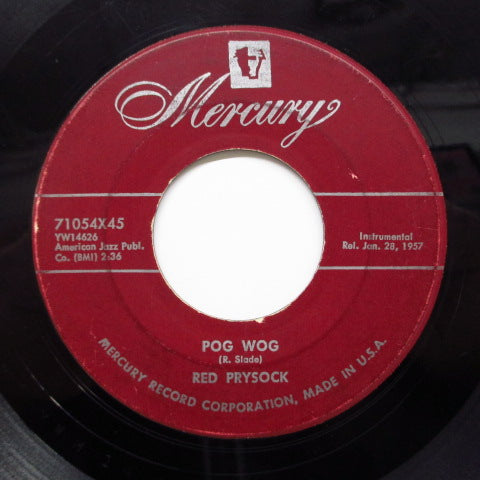 RED PRYSOCK - Pog Wog (Orig.Maroon Label)
