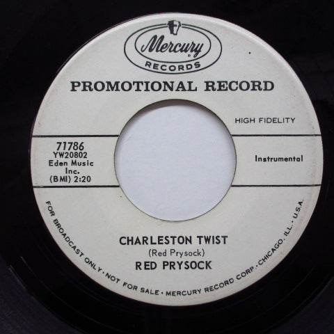 RED PRYSOCK - Charleston Twist (Promo)