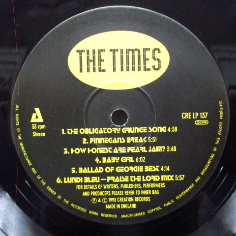 TIMES, THE - Alternative Commercial Crossover (UK Orig.LP)