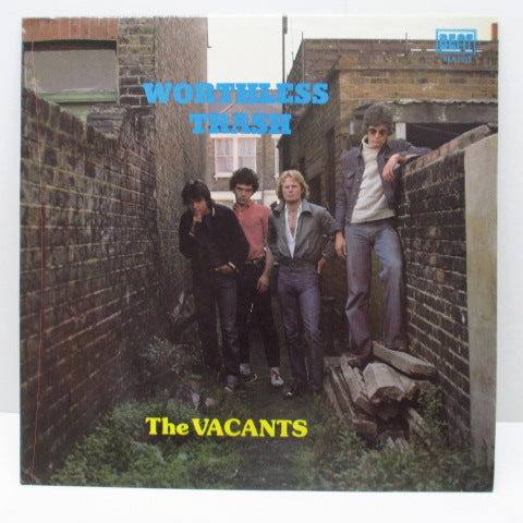 VACANTS, THE - Worthless Trash (OZ Orig.LP)