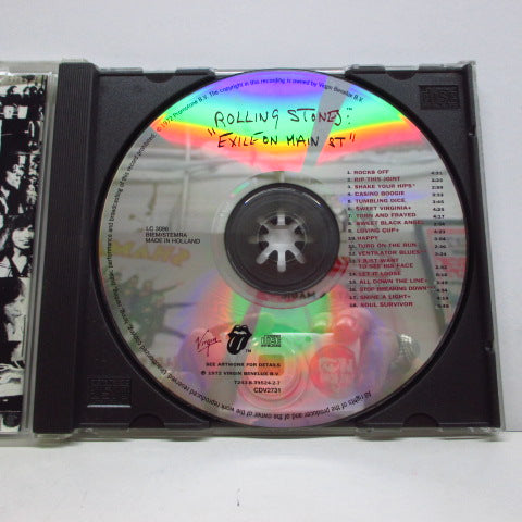 ROLLING STONES - Exile On Main St. (EU Virgin Re CD)