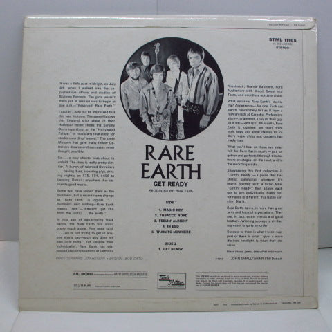 RARE EARTH - Get Ready (UK Orig.Stereo LP/CFS)