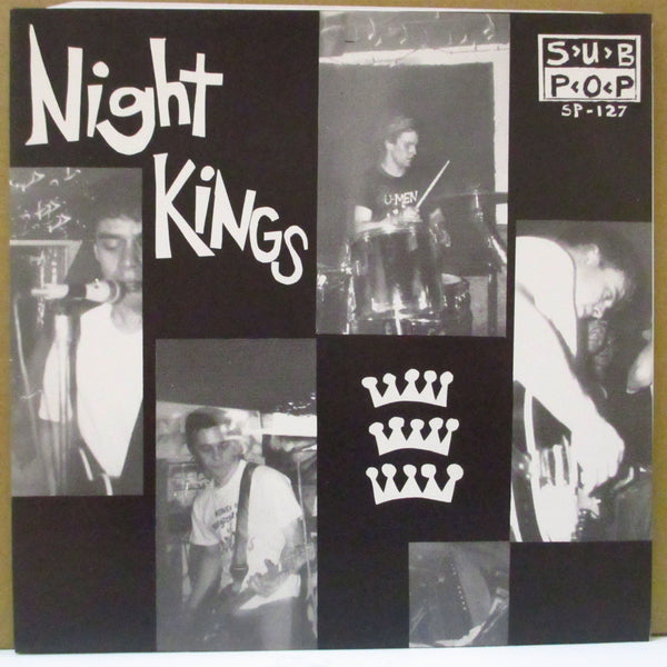 "NIGHT KINGS (ナイト・キングス)  - Night Kings Theme +2 (German Orig.7"")"