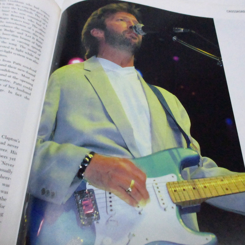 ERIC CLAPTON (Marc Roberty 著) (エリック・クラプトン)  - The Complete Chronicle (UK Orig.Book)