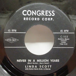 LINDA SCOTT - Never In A Million Years (2nd Press)