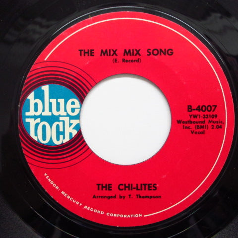 CHI-LITES - The Mix Mix Song / I'm So Jealous (Orig.)