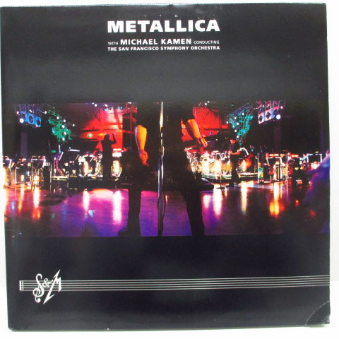METALLICA with Michael Kamen conducting The San Francisco Symphony Orchestra  - S&M (US Orig.3xLP/GS)