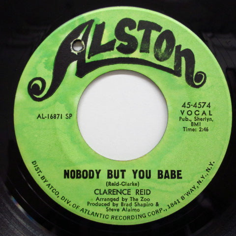 CLARENCE REID - Nobody But You Babe (Orig.)