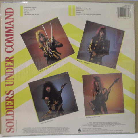 STRYPER (ストライパー)  - Soldiers Under Command (US Ltd.White Vinyl LP/Stickered CVR)