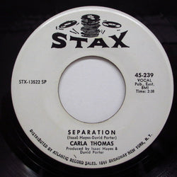 CARLA THOMAS - Separation / Pick Up The Pieces (Promo)