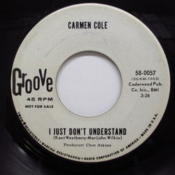 CARMEN COLE - I Just Don't Understand (Promo)
