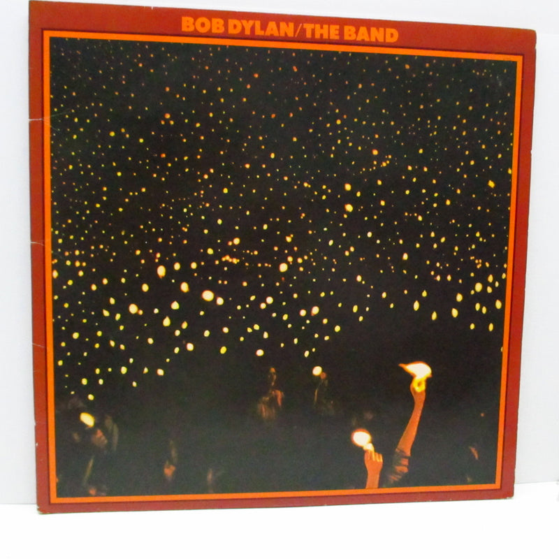 BOB DYLAN & THE BAND - Before The Flood (UK 70's 3rd Press 2xLP/GS)