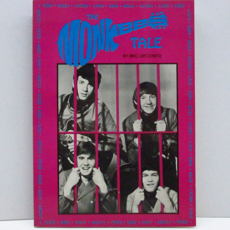 MONKEES (Eric Lefcowitz著) (モンキーズ)  - The Monkees Tale (US Re Book)