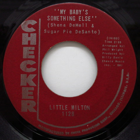 LITTLE MILTON - My Baby's Something Else (Maroon Label)