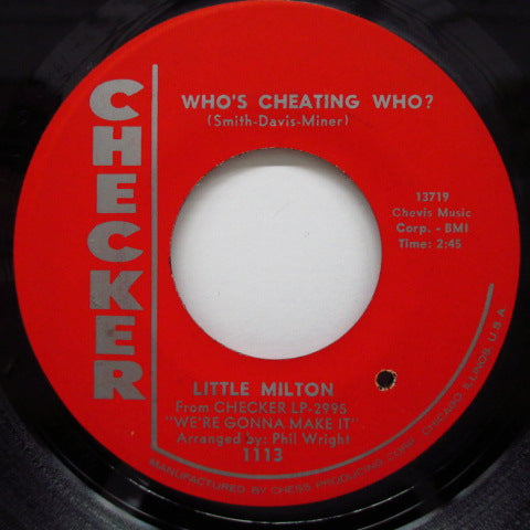 LITTLE MILTON - Ain't No Big Deal On You (Orig.Red Label)