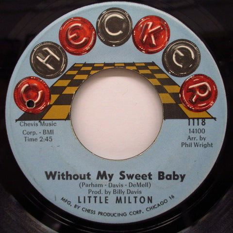 LITTLE MILTON - Help Me Help You / Without My Sweet Baby