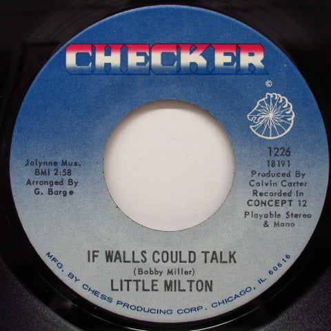 LITTLE MILTON - If Walls Could Talk / Loving You