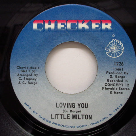 LITTLE MILTON - If Walls Could Talk / Loving You (Orig)