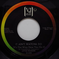 LITTLE RICHARD - It Ain't Watcha Do / Cross Over