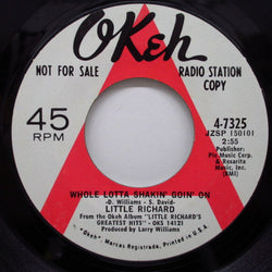 LITTLE RICHARD - Whole Lotta Shakin' Goin' On / Lucille (DJ)