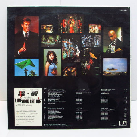 O.S.T. - 007 / Live And Let Die (UK 70's Reissue)
