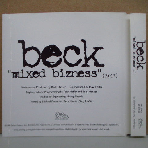 BECK-Mixed Bizness (UK Promo.CD SIngle)