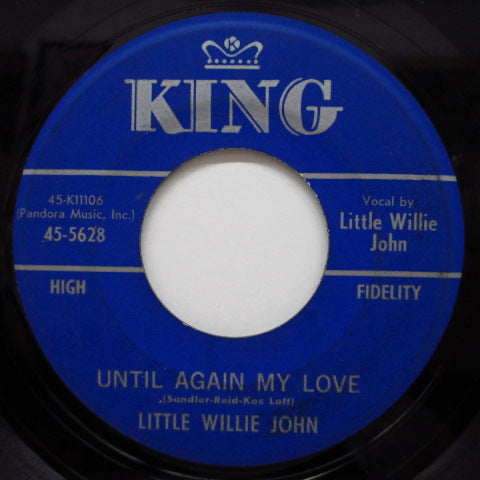 LITTLE WILLIE JOHN - Mister Glenn / Until Again My Love