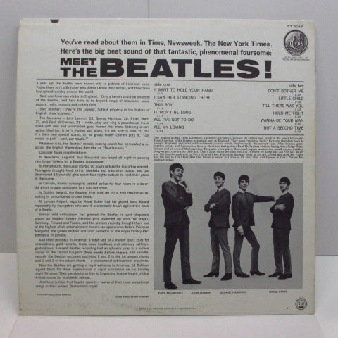BEATLES - Meet The Beatles ! (US:'69 2nd Press STEREO)