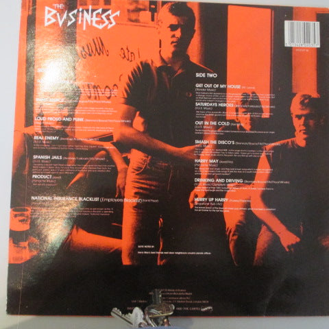 BUSINESS, THE - Singalong A Business (UK Orig.LP)