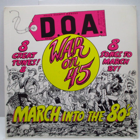 "D.O.A. - War On 45 (US Orig.12""/Faulty)"
