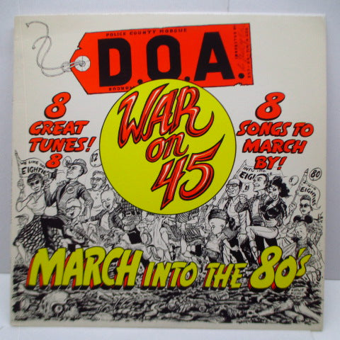 D.O.A. - War On 45 (US Reissue MLP)