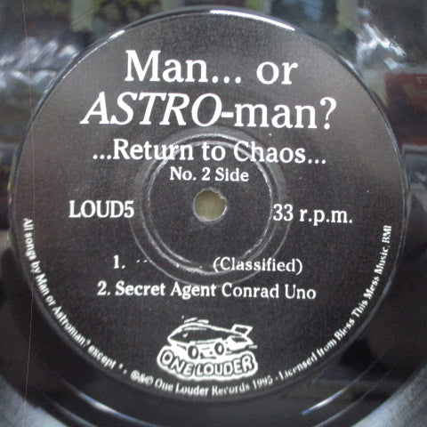 "MAN OR ASTROMAN? - ...Return To Chaos... (UK Orig.7"")"