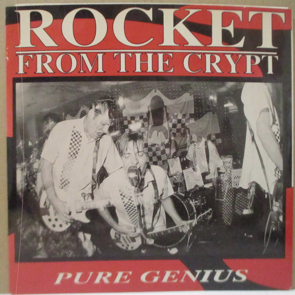 "ROCKET FROM THE CRYPT - Pure Genius (US Ltd.Clear Vinyl 7"")"