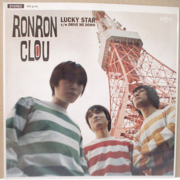 "RON RON CLOU - Lucky Star (Japan Orig.7"")"