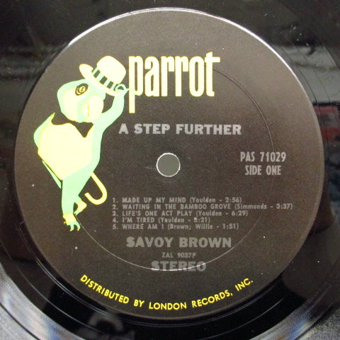 SAVOY BROWN - A Step Further (US Orig.Stereo LP/GS)