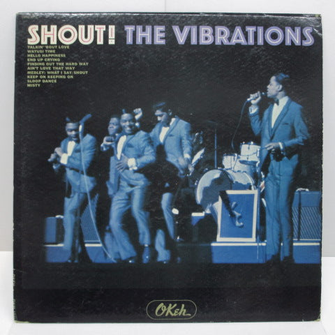 VIBRATIONS - Shout ! (US:Orig.MONO)