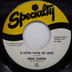 KING CARTER - A Little Taste Of Love / Love Train