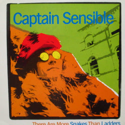 "CAPTAIN SENSIBLE - There Are More Snakes Than Ladders (UK Orig.7"")"