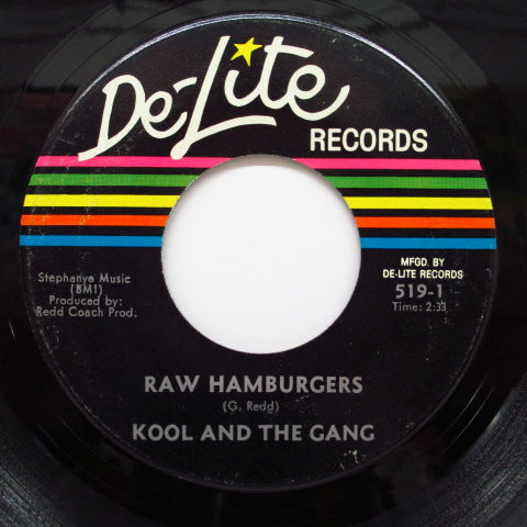 KOOL & THE GANG - Kool & The Gang / Raw Hamburgers