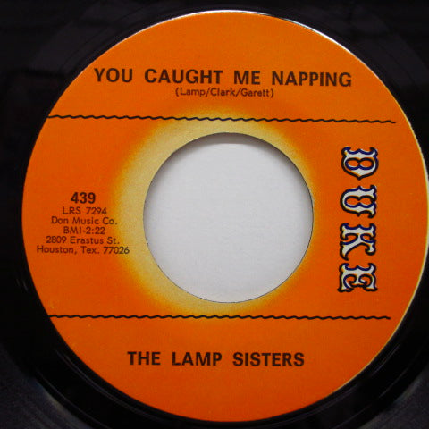 LAMP SISTERS - You Caught Me Napping (Orig)