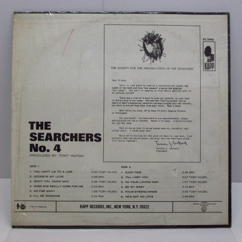 SEARCHERS - No.4 (US:Orig.STEREO)