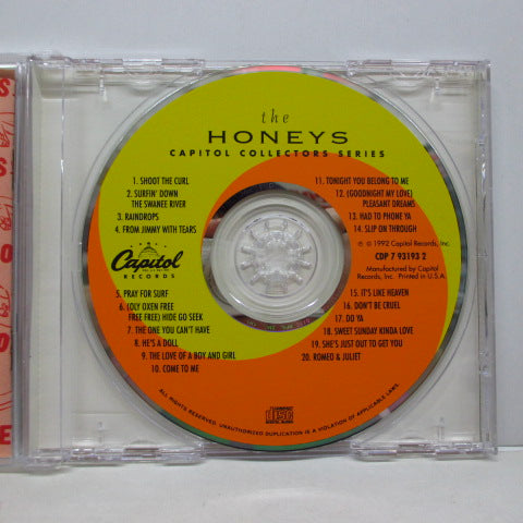 HONEYS - Capitol Collectors Series (US Orig.CD)