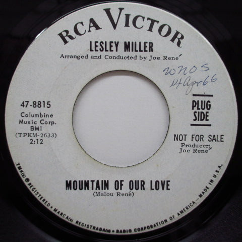 LESLEY MILLER - Mountain Of Our Love (Promo)